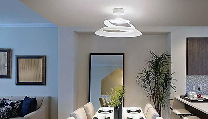Plafoniere moderne per illuminare gli interni