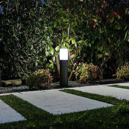Illuminare il giardino di casa con lampioni Perenz Match 6786