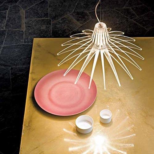 Lampada di design Luceplan Agave-d49-70s per la cucina