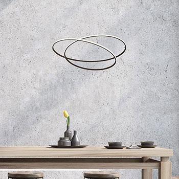 Lampadario economico a LED Sikrea Glem
