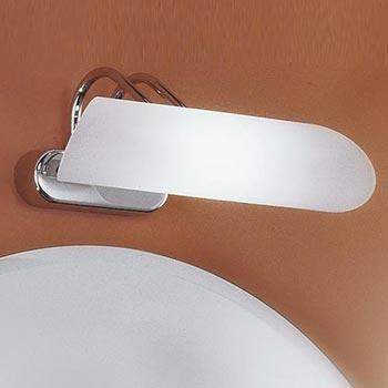 Illuminare il bagno con lampade da specchio Punto