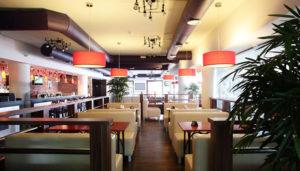 Illuminazione del ristorante
