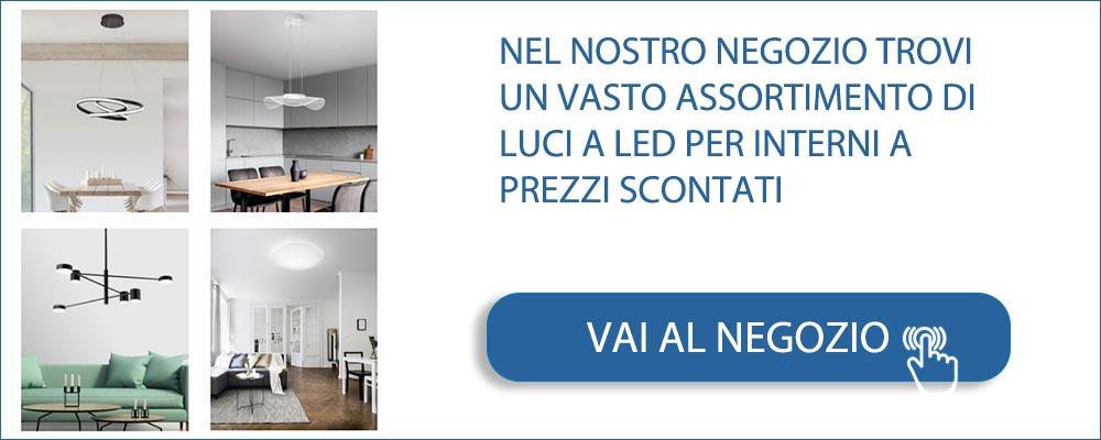 Negozio di Luci a LED per interni