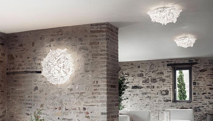 Plafoniere di Design per arredare con la luce